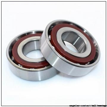 90 mm x 190 mm x 43 mm  NACHI 7318DB angular contact ball bearings